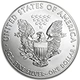 2015 American Eagle 999 1 oz Silver Coin With Black