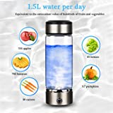Portable Hydrogen-Rich Water Glass Rechargeable ion Water Generator Hydrogen-Rich Water Cup Generator Water Glass Cup Health Cup