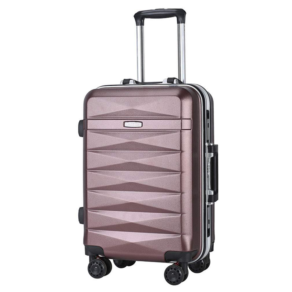 20インチトロリーケース男性女性ファッションスーツケースアルミフレームユニバーサルホイール荷物(FM),F B07SWVPHYW F