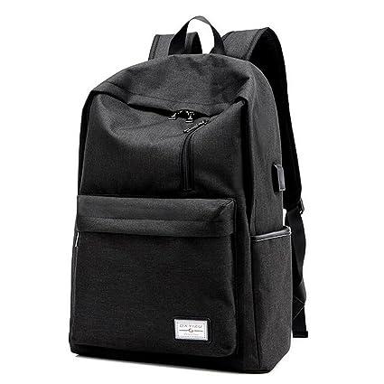 Amazon.com  MIJORA-Men Women Anti-Theft Backpack USB Charging Travel ... 9767c3eb2b791