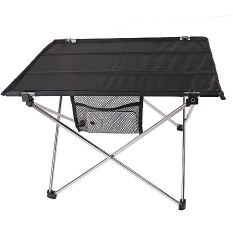 amazon com camping folding table holidayli double folding desk