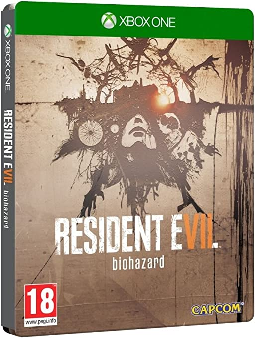 Xbox One Resident Evil VII 7 Biohazard Steel Book Edition PREOWNED ...