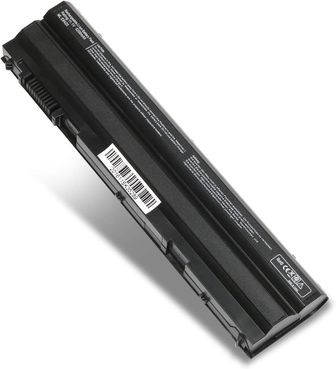Laptop Battery for Dell Latitude E5420 E5430 E5520 E5530 E6420 E6430 E6520 E6530,Compatible P/N:312-1163 312-1242 M5Y0X HCJWT KJ321 NHXVW PRRRF T54F3 T54FJ X57F1