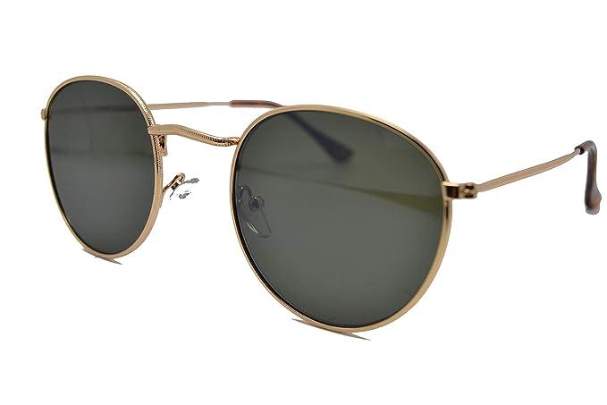 Optica Vision-Specs Gafas de sol redondas metal 447 round ...