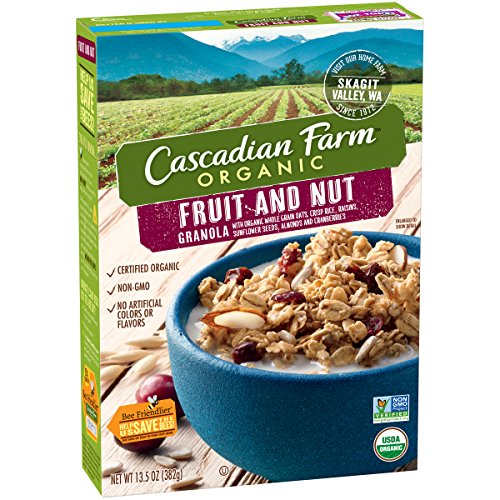 Cascadian Farm Organic Fruit and Nut Granola, 13.5 oz