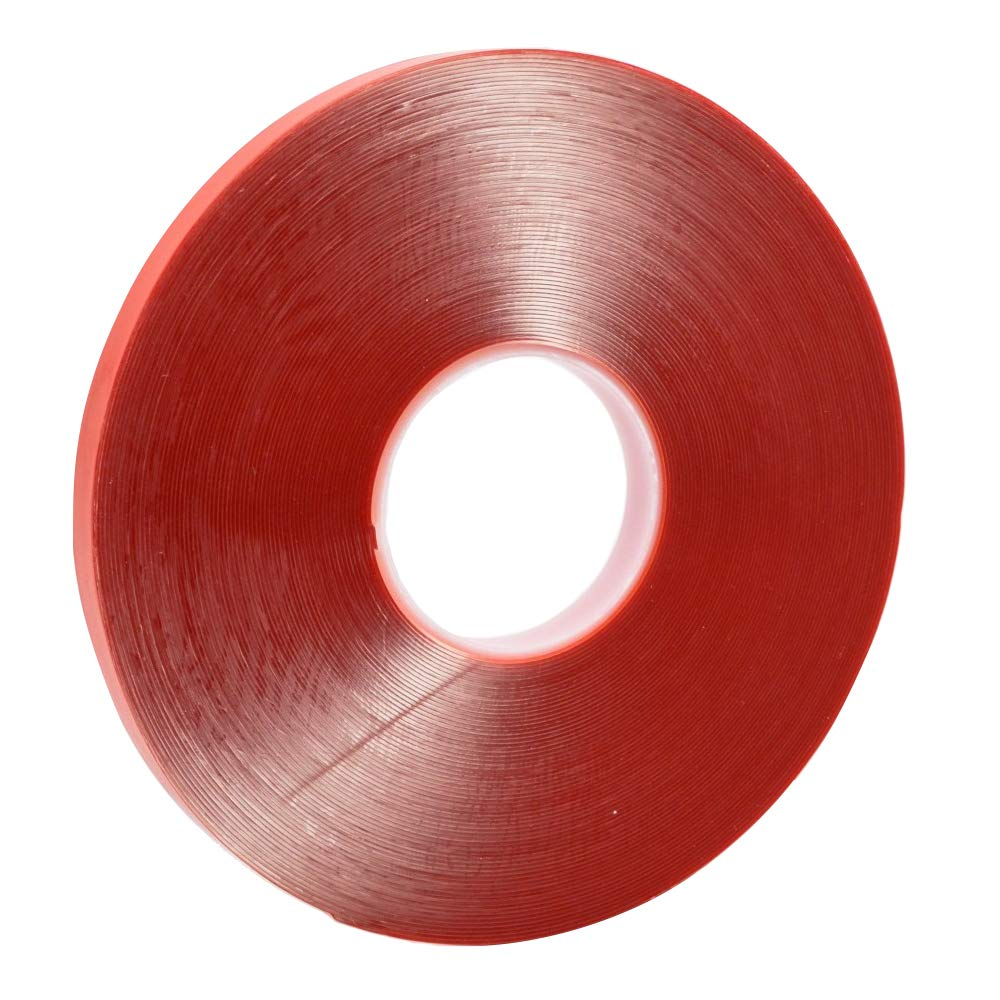 MMOBIEL 1 mm Nastro bi-adesivo strato acrilico forte lungo 30 m impermeabile rimuovibile