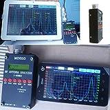 High Precison! Bluetooth Android HF ANT SWR Antenna Analyzer SARK-100 1-60MHz Mini60 SWR Antenna Meter DC12-24V USB