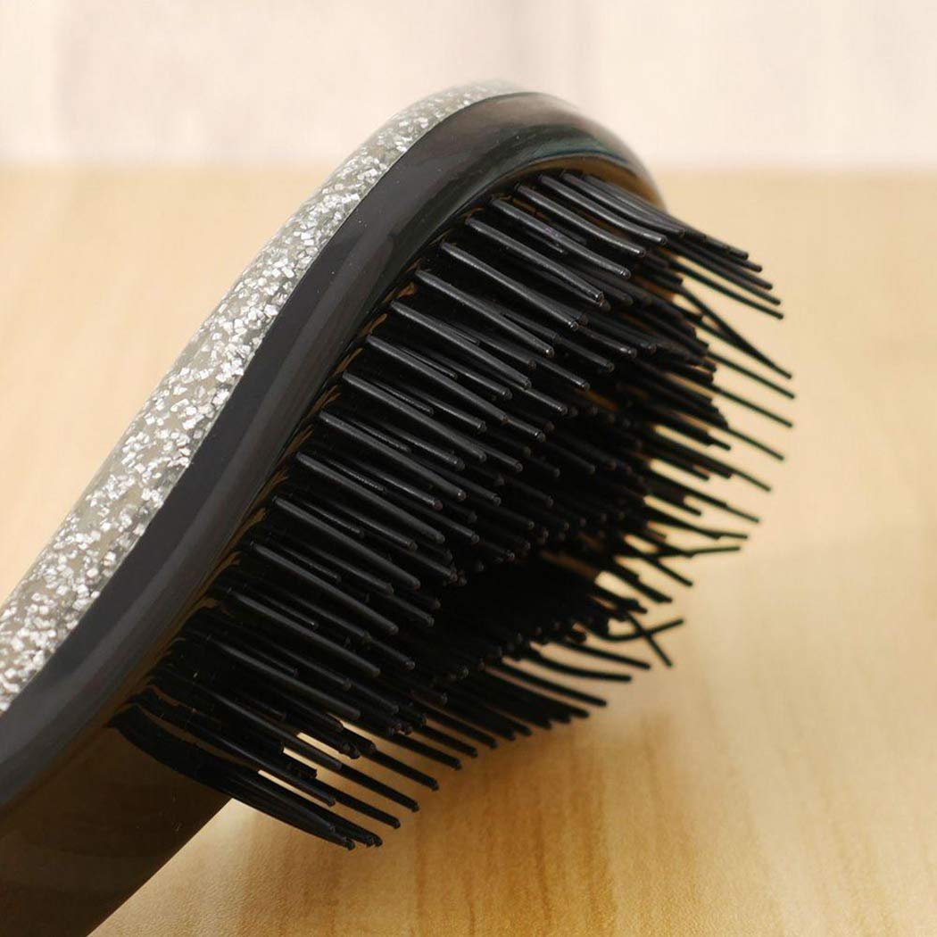 Wwweyi Wekold Portable T-Handle Hair Care Anti-static Massage Comb Hair Styling Tool Hair Combs