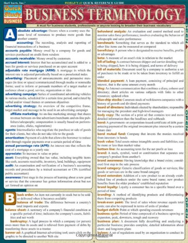 Business Terminology (Quick Study Business)