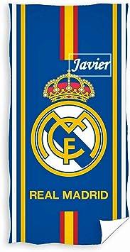 FCB203 Danielstore Toalla De Ba/ño y Playa Personalizada con nombre Bordado FC Barcelona 75 x 150 cm