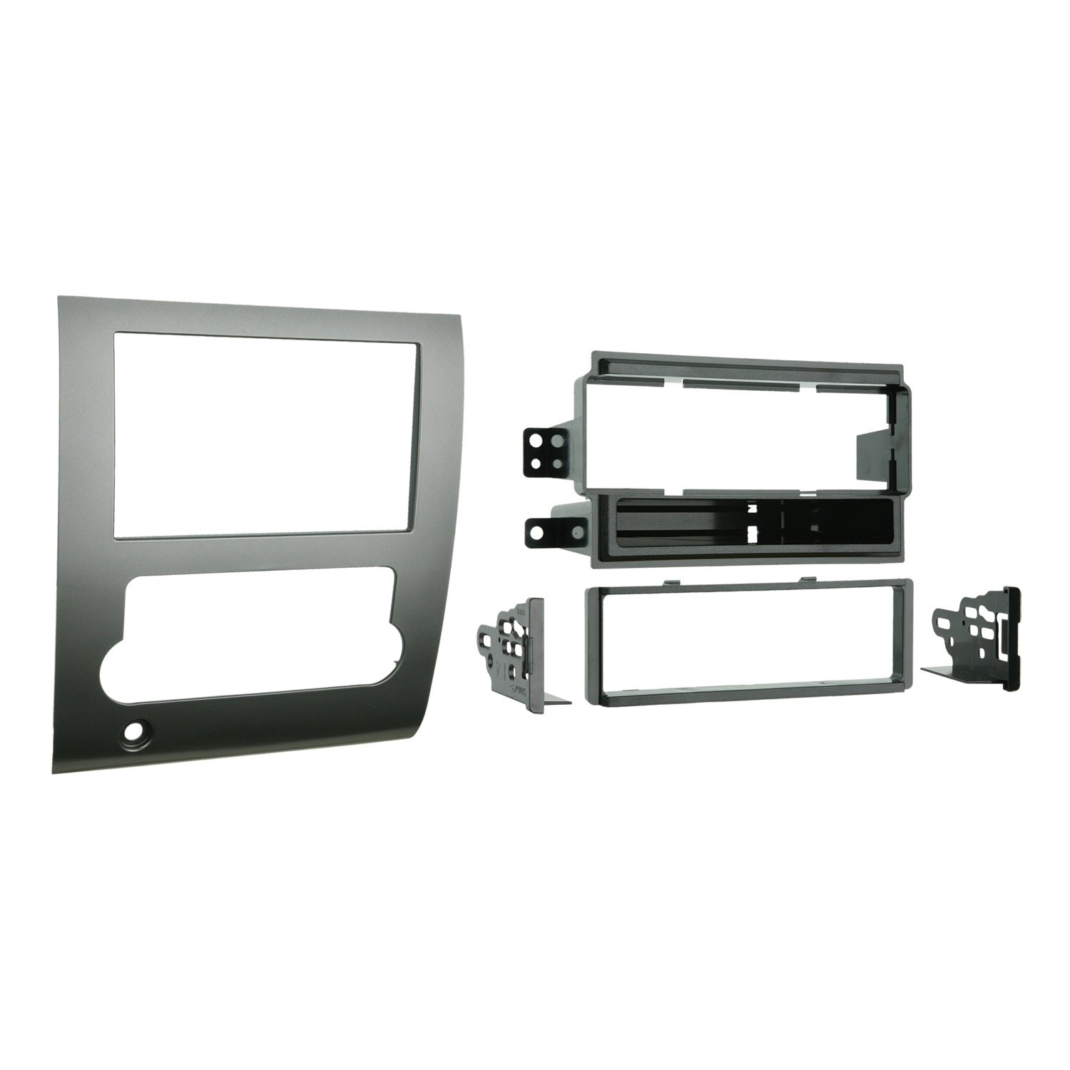 Metra 99-7424 Single DIN/Double DIN Installation Kit for 2008-up Nissan Titan (Silver) Metra Electronics Corporation