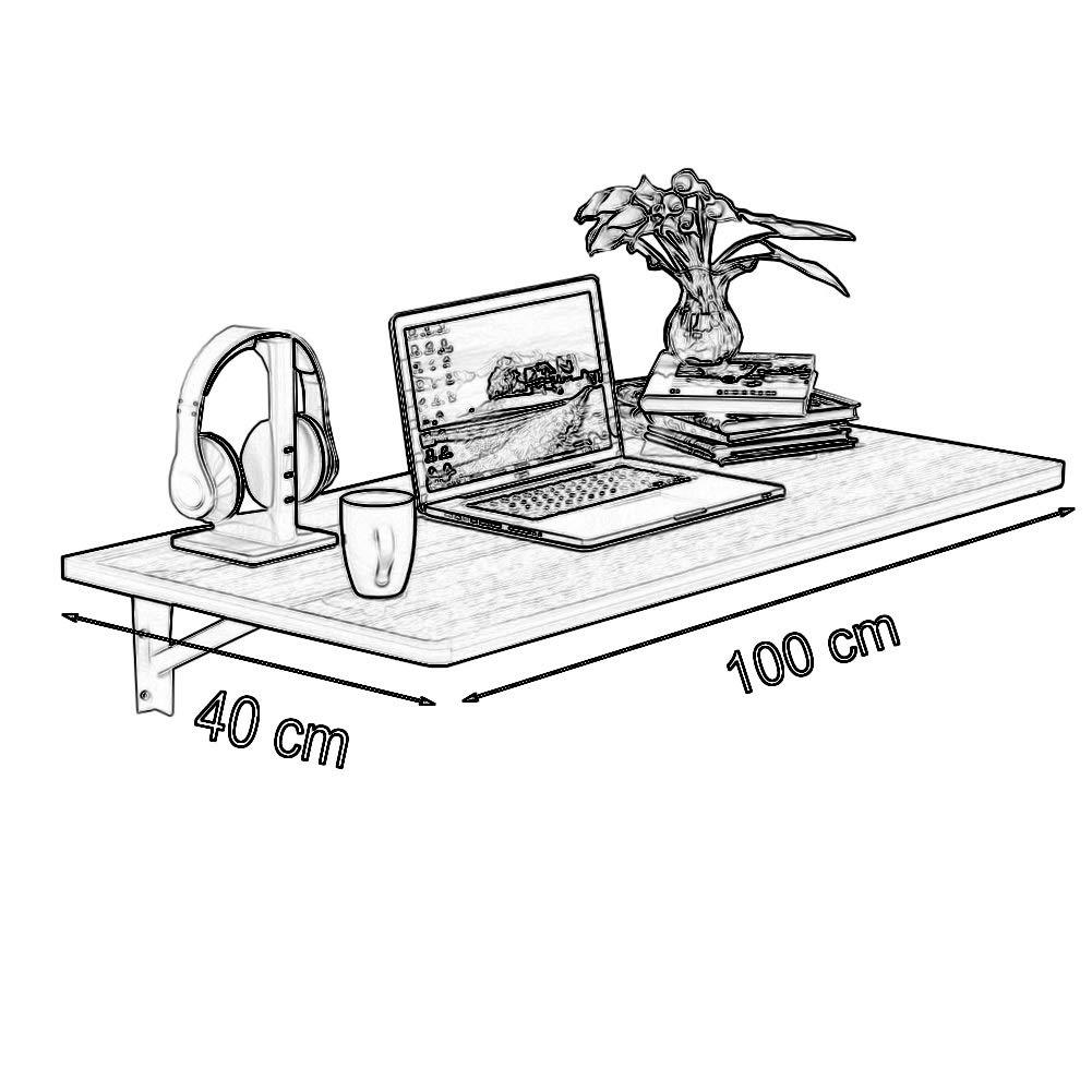 Amazon.com: YXX - Mesa plegable de madera para colgar en la ...