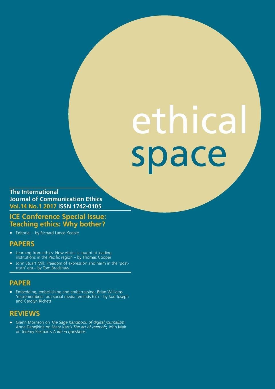Ethical Space Vol.14 Issue 1 pdf epub