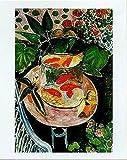Goldfish by Henri Matisse 28x20 Art Print Poster