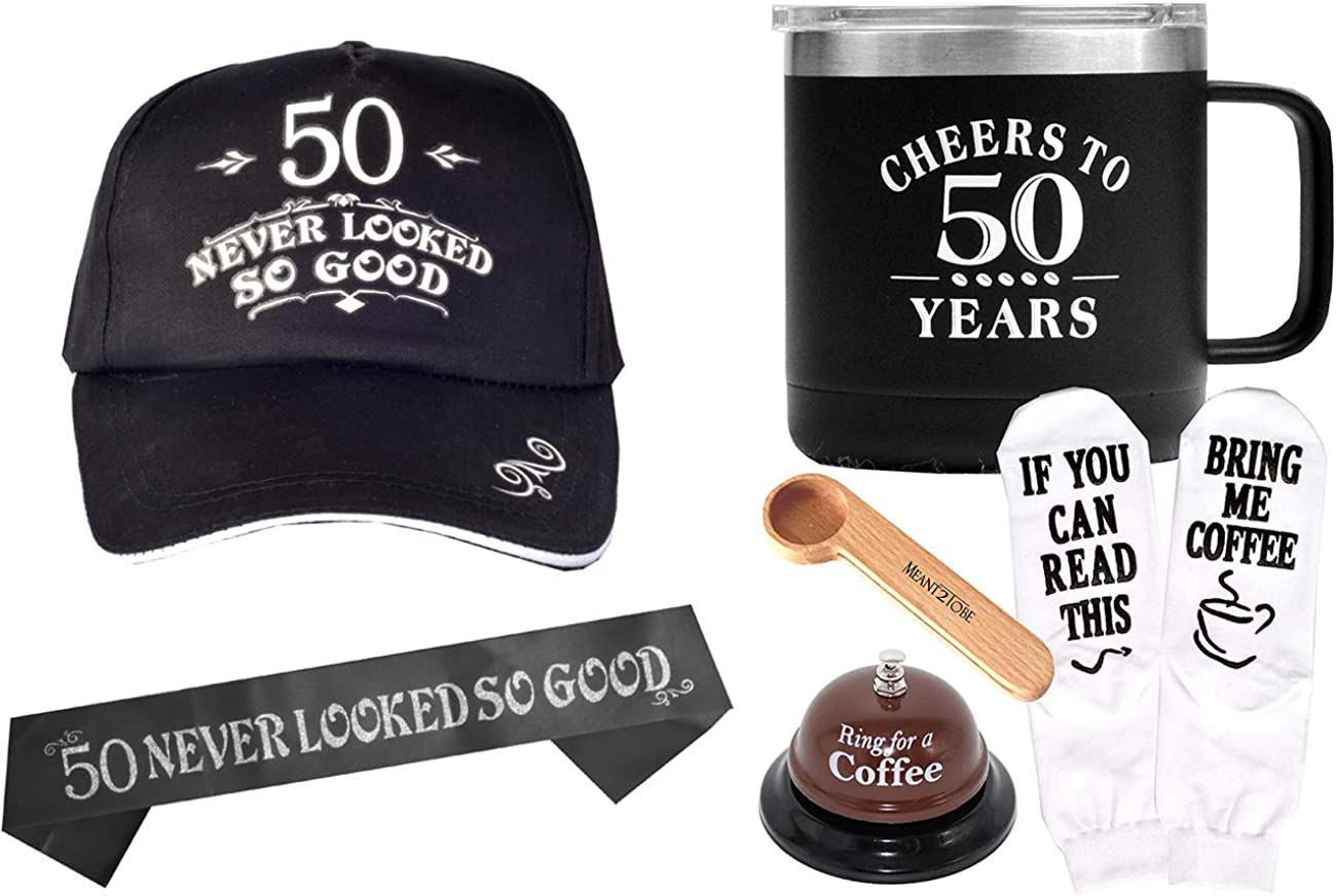 50th Happy Birthday Gift for Men,50 and Fabulous, 50th Birthday Gift for Man, I'm 50, Best Turning 50-Year-Old Birthday Gift Ideas for Husband,50th Birthday Party Decorations,50th Birthday Accessories