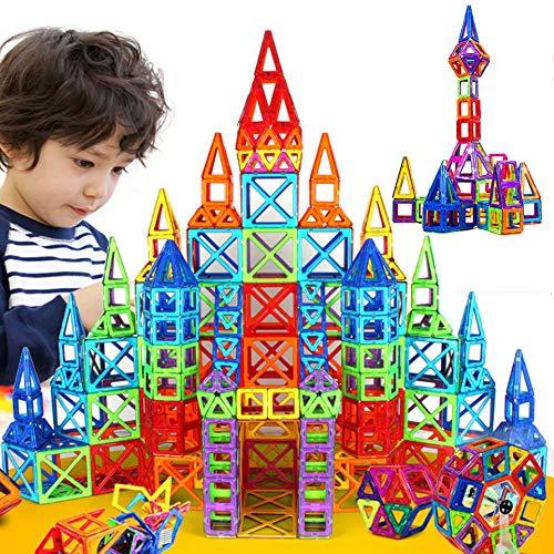 JohnCalbe 100 - 298pcs Mini Magnetic Designer Construction Set Model & Building Toy DIY Magnetic Blocks Educational Toys for Children by JohnCalbe (Image #1)