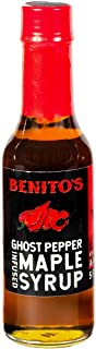 product image for Benito's Chili Pepper Infused Vermont Maple Syrup (Ghost Pepper, 1 Bottle)