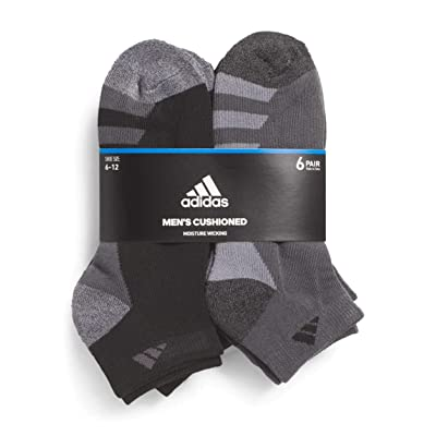 .com : adidas Men's Athletic Low Cut Sock (6-Pack) : Sports & Outdoors
