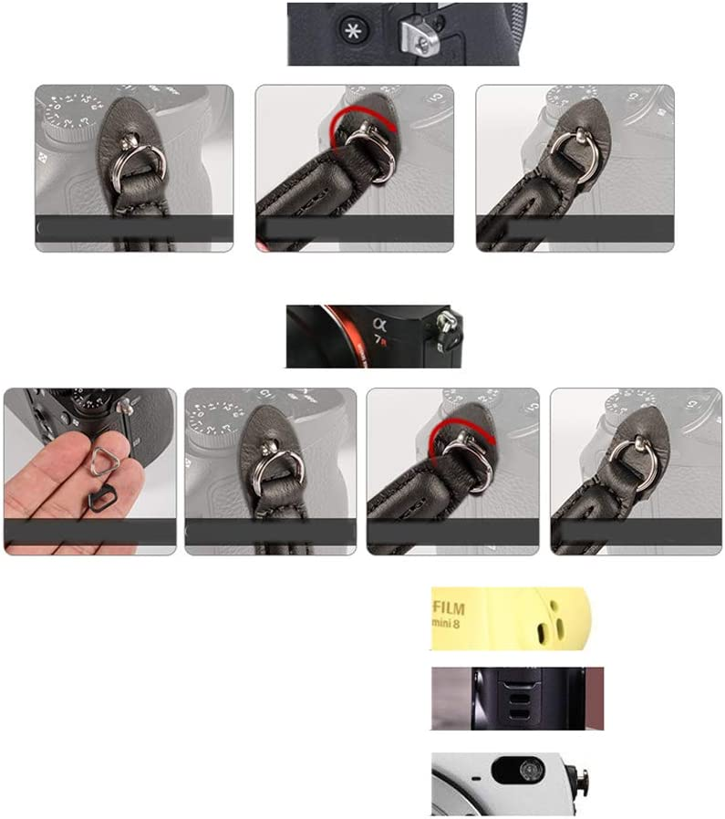 AKDSteel Soft Hand Grip Wrist Strap Professional Camera Accessory for SLR//DSLR Camera red