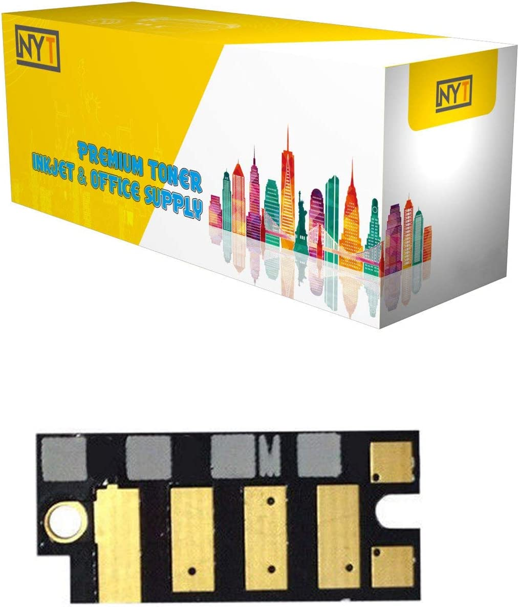 NYT Compatible New Chip Replacement for Dell 1660 M for Dell C1660 Magenta,1-Pack