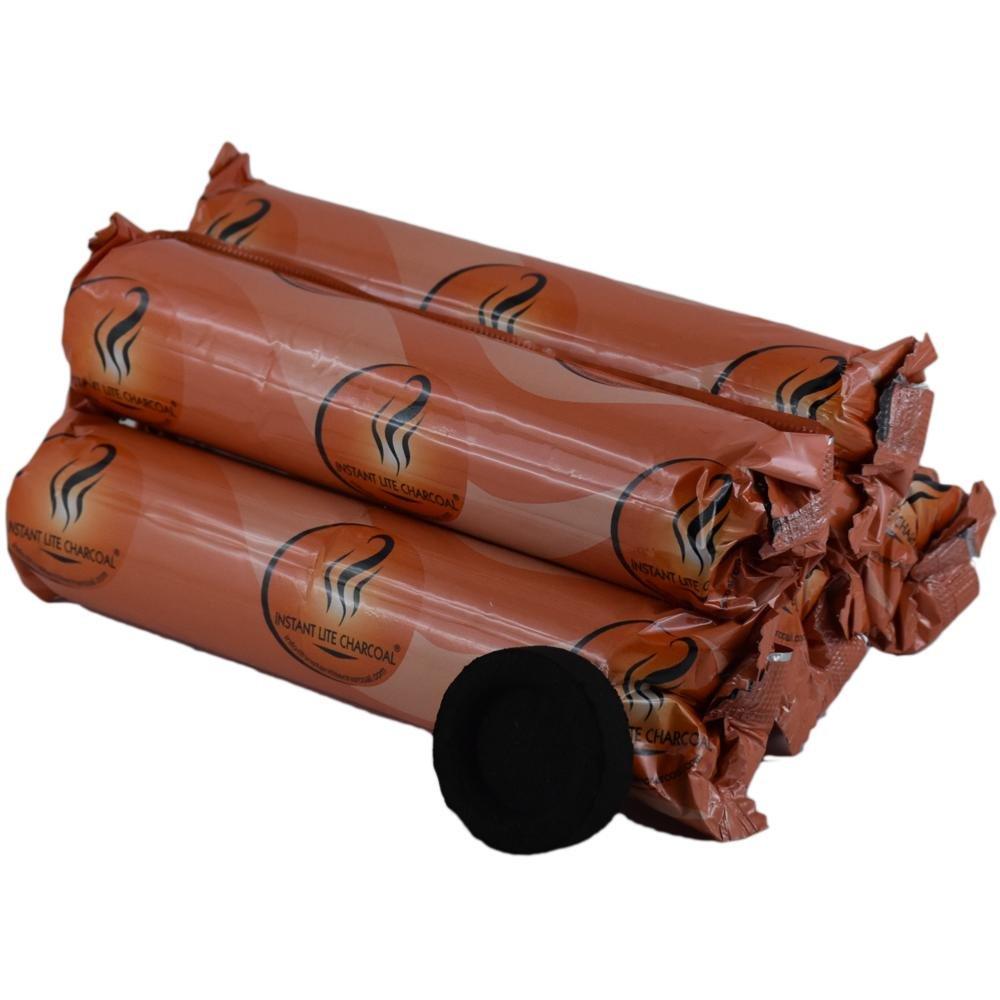 Charbons Ardents 33 mm - lot de 5 rouleaux de 10 charbons