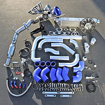 Amazon com: 02-06 Acura RSX K Series K20 K24 Si T3T4  63 Turbo Kit