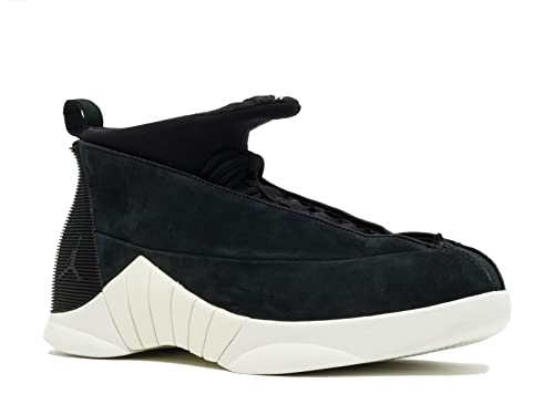 9c9060e60c1 Nike Air Jordan 15 Retro Psny Mens Basketball Trainers 921194 Sneakers  Shoes (uk 9 us 10 eu 44, Black Sail Black 011): Amazon.co.uk: Shoes & Bags