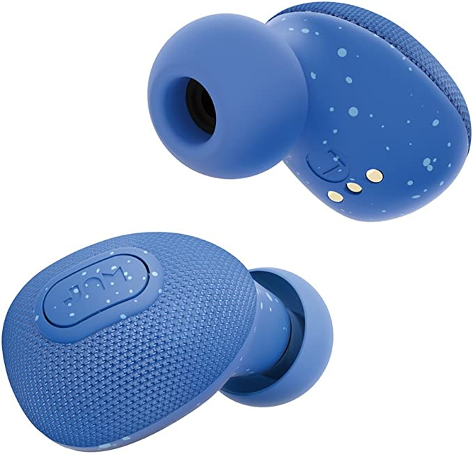 Jam Live True Auriculares inalámbricos de pinganillo, 3 horas de reproducción, Azul: Amazon.es: Electrónica