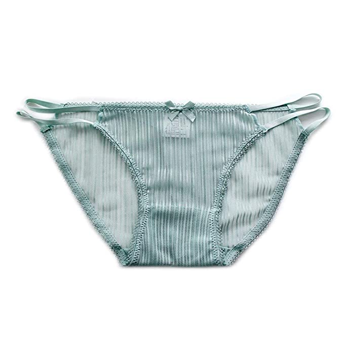 H-M-STUDIO Calzoncillos De Mujer Ropa Interior Liviana Y Gasa Ropa Interior Triangular Transparente Sexy.: Amazon.es: Ropa y accesorios
