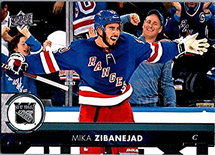 brand new a5aba 0fafa 2017-18 Collectibles Art Deck Ny Mika Upper Rangers 373 ...