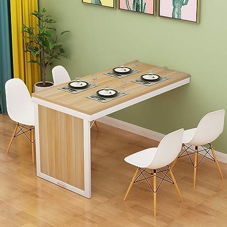 Mesa de comedor plegable Montada en la pared Plegable Mesa ...