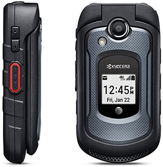 Kyocera DuraXE 4G LTE Rugged Mobile Flip-phone Unlocked for GSM Networks