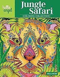 Hello Angel Jungle Safari Coloring Collection