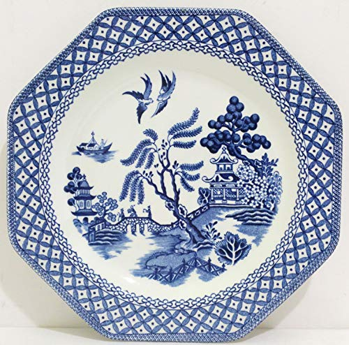 J&G MEAKIN Royal Staffordshire Blue Willow Octagon for sale  Delivered anywhere in USA