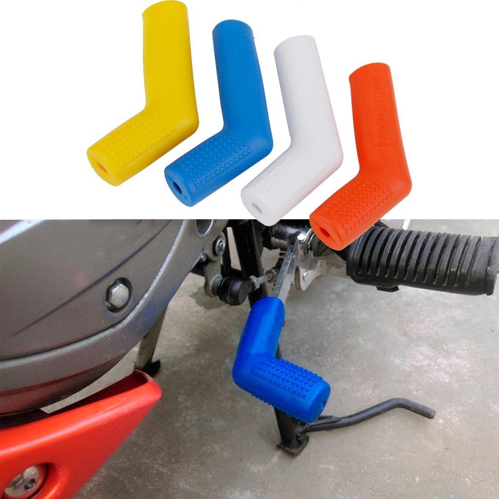 Sharplace 1 Pieza Cubierta de Cambios de Marcha Accesorios para Motocicletas Durable