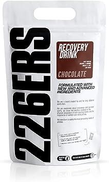 226ERS Recovery Drink, Recuperador Muscular con Proteína Whey, Creatina, Hidratos de Carbono, Triglicéridos y L-Arginina, Chocolate - 1000 gr