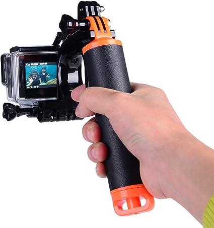 Suptig Wasserdichter Kamerastab Mit Auslöser Für Gopro Kamera