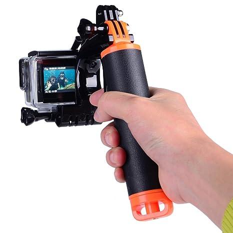 508a6dd8e4546c Suptig Trigger Waterproof Pistol Shutter Trigger Kit Floating Hand Grip for GoPro  Hero 7 GoPro Hero