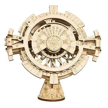 Amazon.com: Rokr Puzzle de madera con equipo mecánico modelo ...