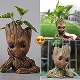 Pickpro Baby Groot Flowerpot/Pen Pot/Guardians of the Galaxy Groot Flower Pot Great Gift