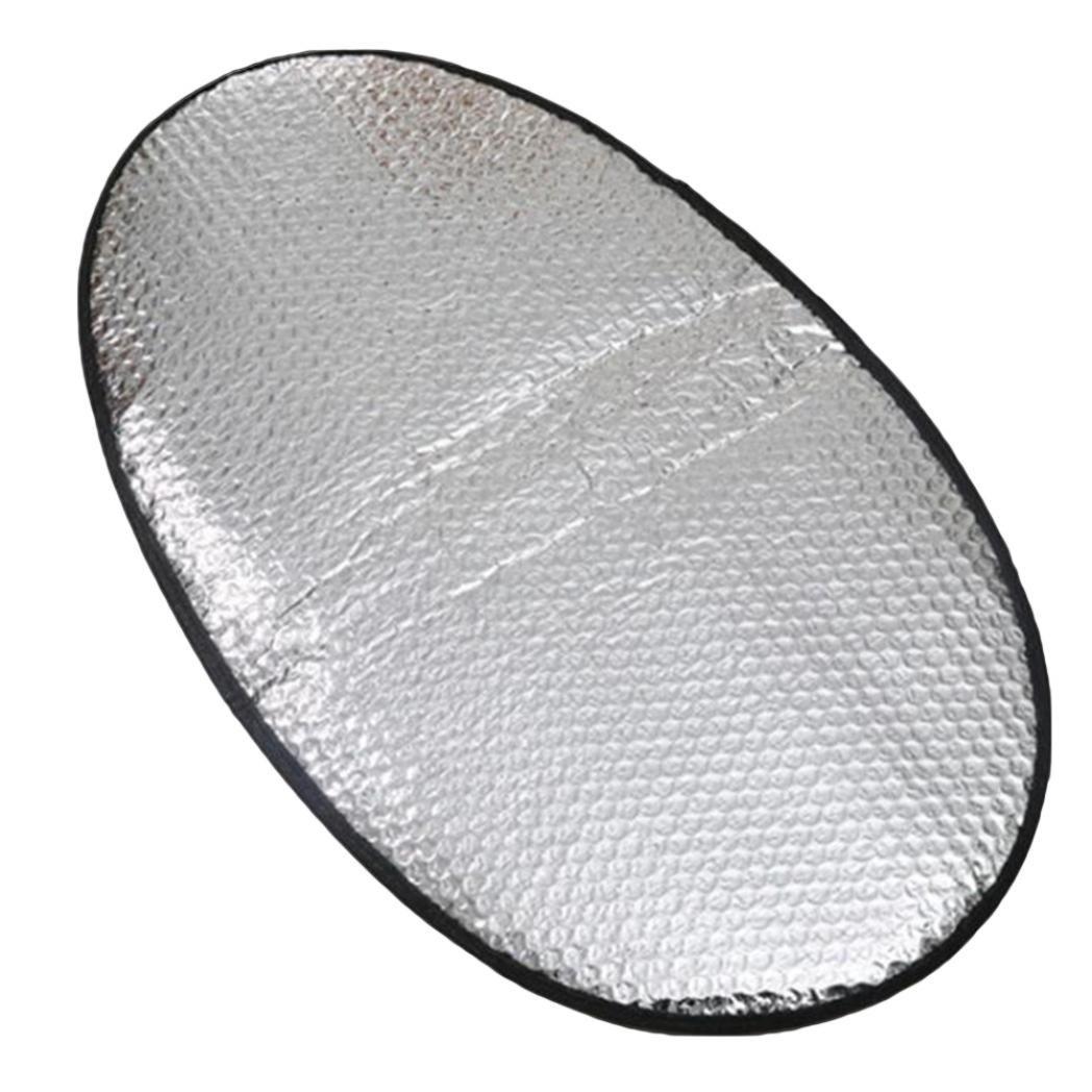 bodhi2000 Aluminium Folie Motorrad Electric Car Wasser Resistent Sonnenschutz Wä rmedä mmung Matte Sitz Bezug