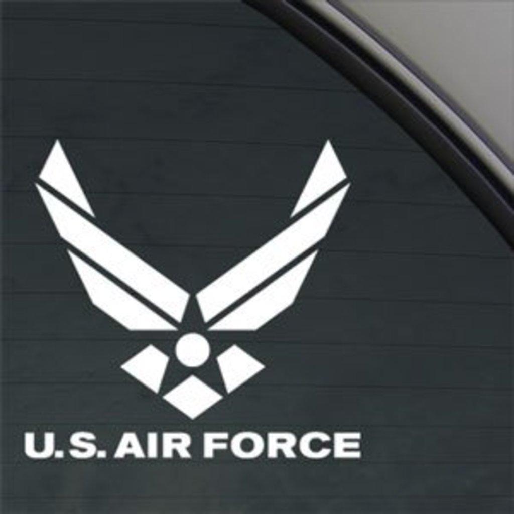 AIR FORCE Decal Truck Bumper Window Vinyl Sticker CCI221 4.5 In
