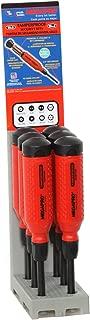 product image for Megapro 151TP-PDM-S Display 15-in-1 Red/Black Tamperproof Driver, 6-Piece