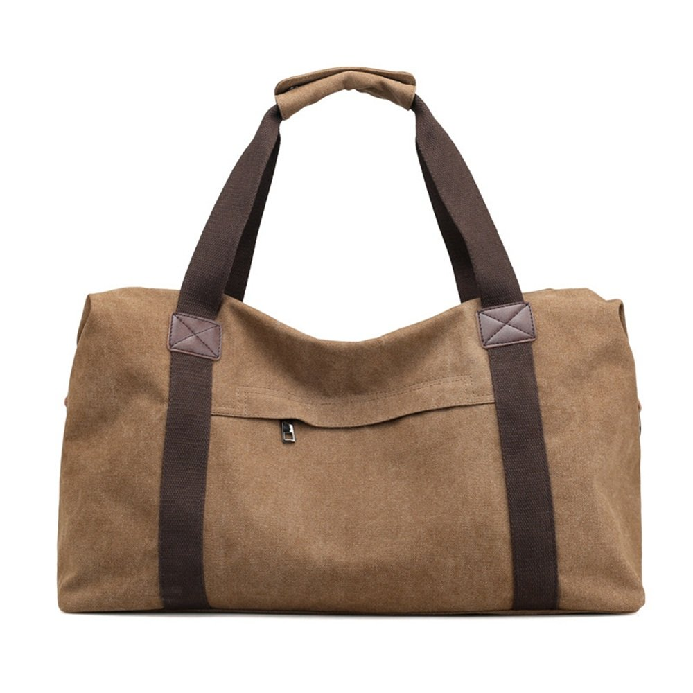 Ybriefbag Unisex Canvas Traveling Bag, Large Capacity Canvas Traveling Bag, Single Shoulder Shoulder Bag, Short Distance and Large Capacity Baggage Bag. Vacation by Ybriefbag (Image #2)