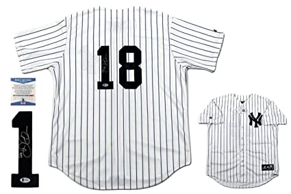 brand new 2816d a922e Didi Gregorius Autographed Signed New York Yankees Majestic ...