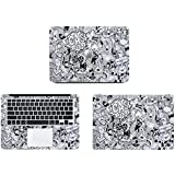 Theskinmantra Come & See ! full body decal/sticker/vinyl for Apple Macbook Air 13, A pack of 3 pcs