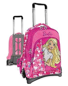 Barbie Scuola 2018/2019 Mochila Infantil, 40 cm, Rosa (Fucsia): Amazon.es: Equipaje