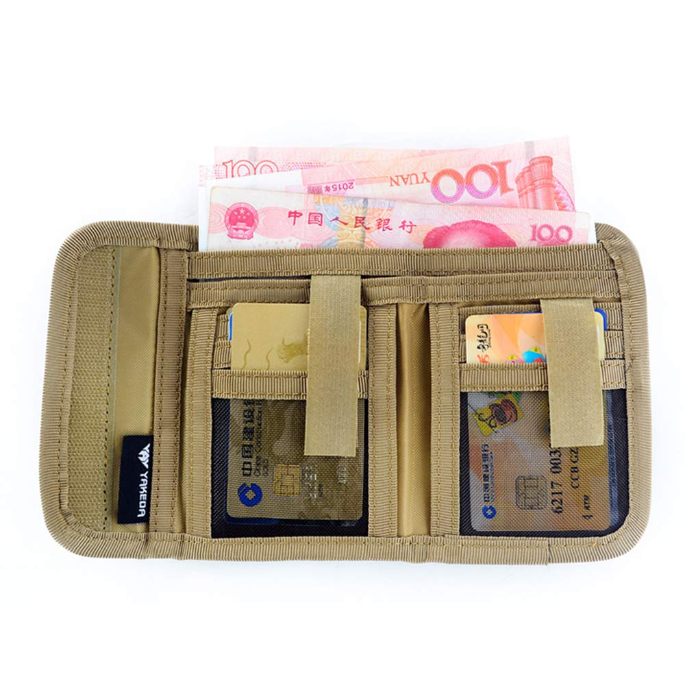 Military Army Camo wallet tactical purse coin bag card holder for men at Amazon Mens Clothing store: