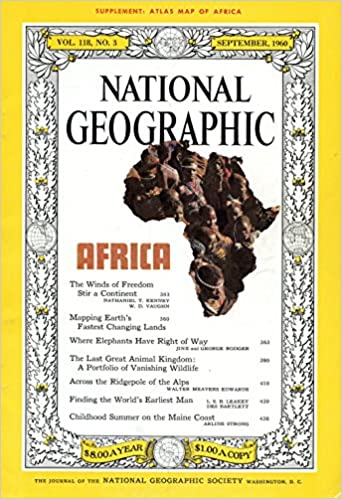 National geographic magazine vol 118 no 3 september 1960 national geographic magazine vol 118 no 3 september 1960 national geographic society amazon books gumiabroncs Gallery