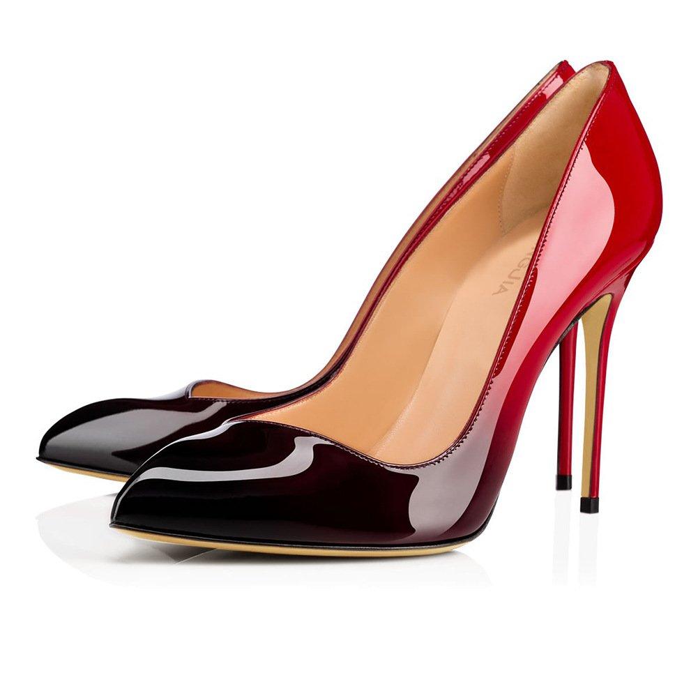 XUE Damenschuhe PU Frühjahr/Sommer wies Schuhe & Heels Stiletto Heel Hochzeit/Party & Schuhe Abend/Kleid Formale Business Arbeit Hochzeit (Farbe : EIN, Größe : 35) 2eafab